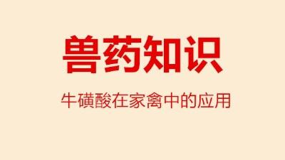 上海邦森分享牛磺酸在家禽中的作用