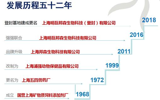 上海邦森发展历程
