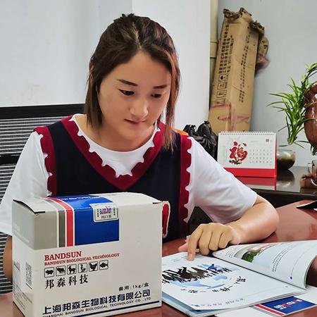 上海邦森的杜壮素产品有效提高了蛋的质量