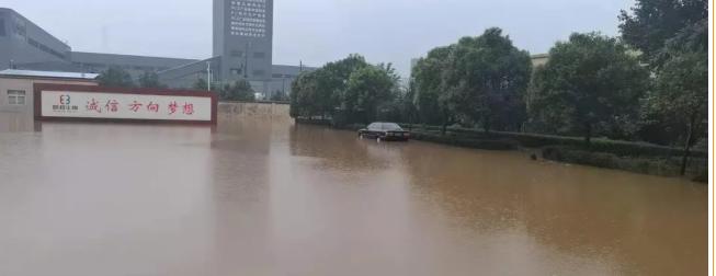 邦森厂区水况