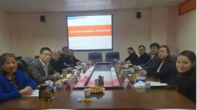 河南豫宛商会领导莅临上海明磊邦森郑州办事处考察指导