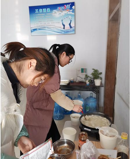 冬至煮饺子