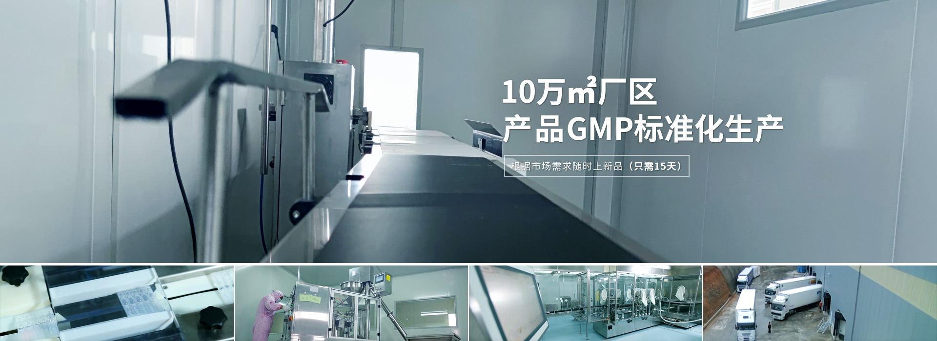 邦森 10万㎡厂区 产品GMP标准化生产